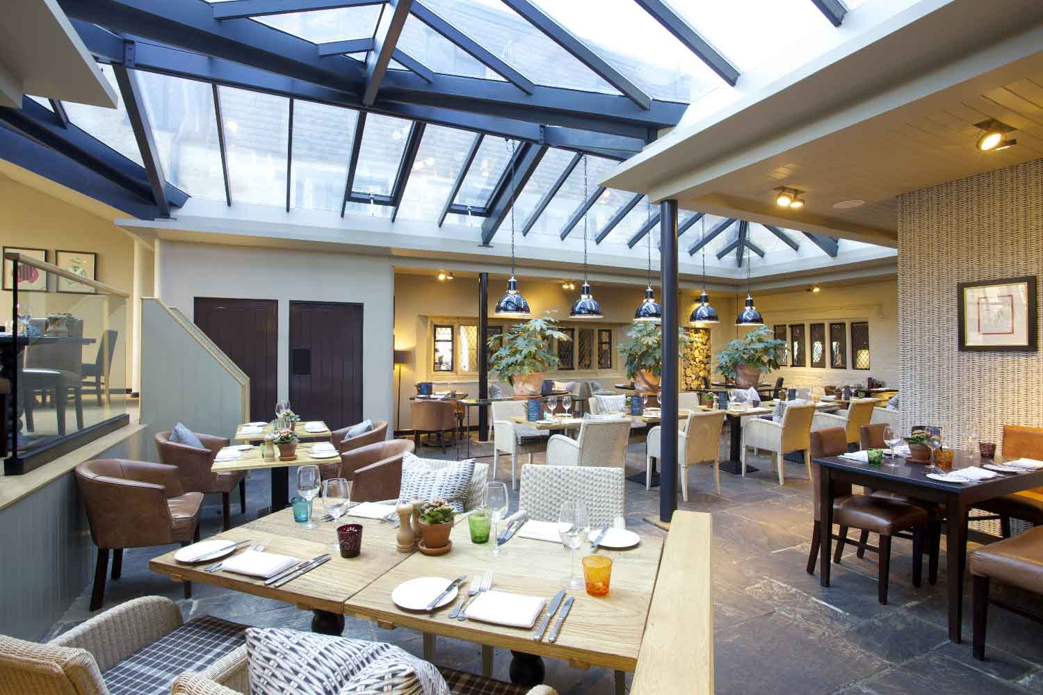 The tattersalls brasserie in broadway cotswold inns and for Broadway house