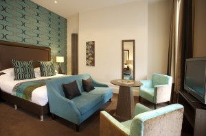 Junior Suite at The George Hotel in Cheltenham