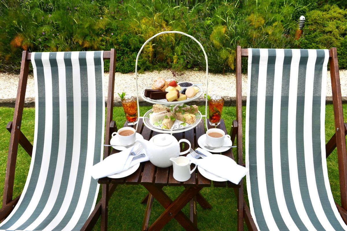 Afternoon Tea in the Manor House Gardens